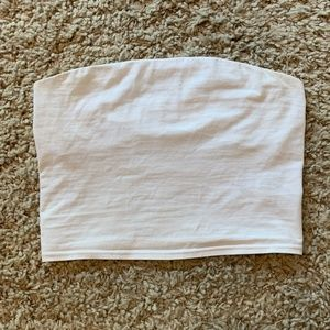 Urban Outfitters Classic White Crop Top